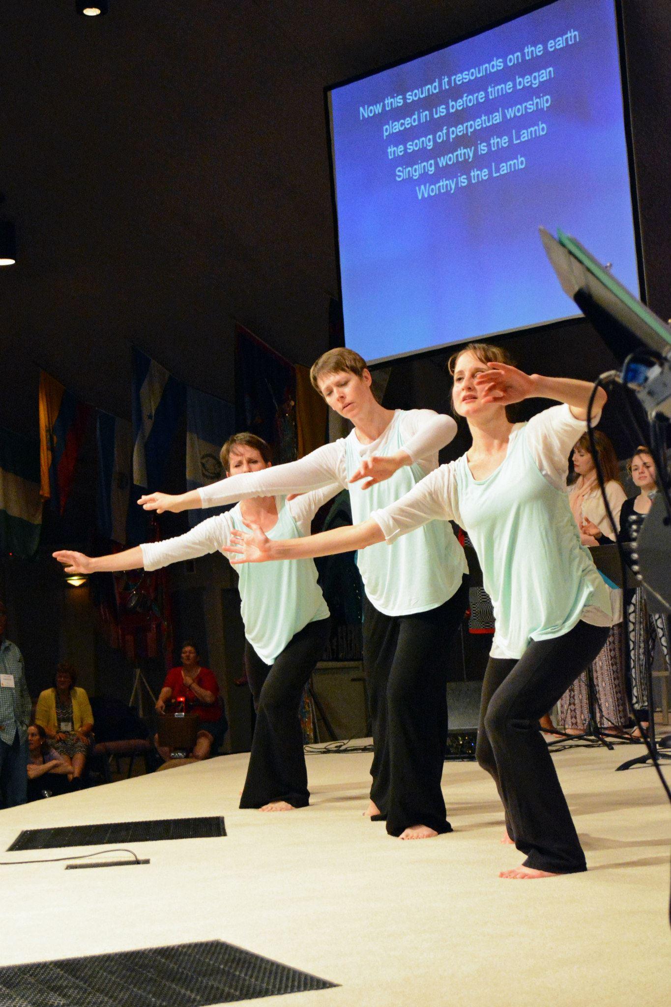 Worship Dance - Celebration Ministries.